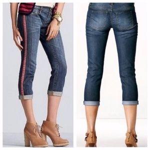 Cabi Women's Johnny Crop Tux Capri Jeans 327 - 2